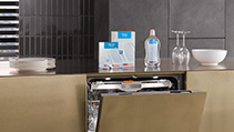 Dishwasher Accessories and Care products.