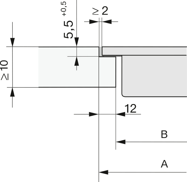 "Installation drawings-with <var Data-ID=""PP_118160; classvalue"">Wert in SAP nicht gepflegt!</var> PowerFlex cooking areas for maximum power output -"