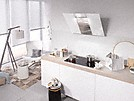 Miele Downdraft Extractor System single pane safety glass