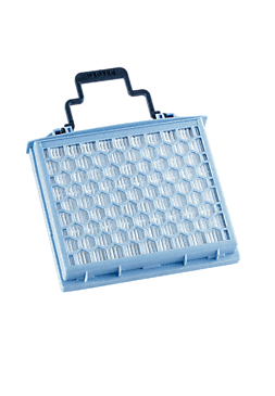 SF AH 40 - Active HEPA filter safely traps fine dust and allergens.--NO_COLOR