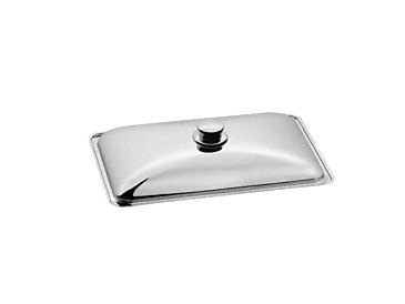 HBD 60-22 - Gourmet casserole dish lid For Miele HUB 61-22, 62-22, 5000 M and 5001 M gourmet oven dishes.--Stainless steel/CleanSteel