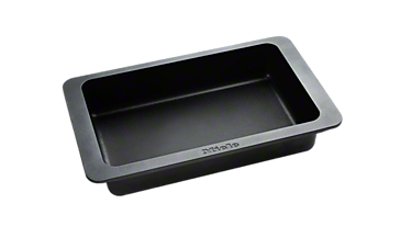 HUB 5001-M - Induction gourmet casserole dish For frying, braising and gratinating.--Stainless steel/CleanSteel