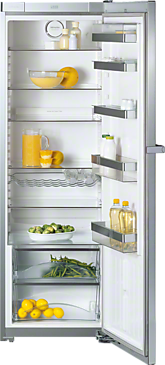 K 14820 SD ed/cs - Freestanding refrigerator For maximum convenience thanks to ComfortClean, SoftClose and Miele VarioBord.--Stainless steel/CleanSteel