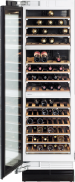 KWT 1612 Vi - MasterCool wine conditioning unit For optimum conditioning, thanks to different zones and Miele TouchControl.--NO_COLOR
