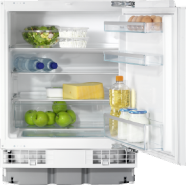 K 5122 Ui - Built-in refrigerator with versatile interior for storing even more food.--