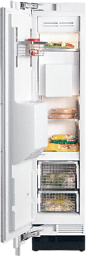 F 1472 Vi - MasterCool freezer with individual water and ice cube supply thanks to integrated IceMaker.--NO_COLOR