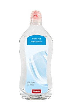 GS RA 502 L - Rinse aid, 500 ml for best drying and gentle treatment in Miele dishwashers.--NO_COLOR