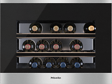 KWT 6112 iG - Built-in wine conditioning unit with FlexiFrame Plus and Push2open for the most demanding wine connoisseurs.--NO_COLOR