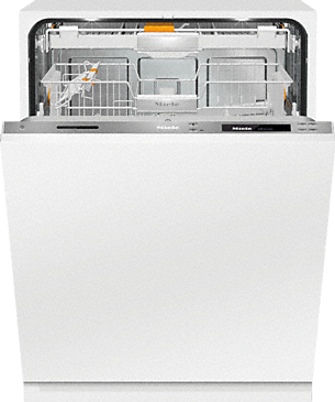 G 6993 SCVi K2O - Fully integrated dishwashers – the Miele all-rounder for handleless kitchen designs.--Stainless steel/CleanSteel
