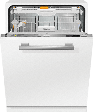 G 6770 SCVi - Fully integrated dishwashers Cost savings due to energy efficiency class A+++ and from 6.5 l in Automatic programme.--Stainless steel/CleanSteel