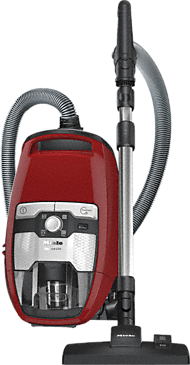 Blizzard CX1 Red PowerLine - SKRR3 - Bagless cylinder vacuum cleaners With high suction power and telescopic tube for thorough, convenient vacuuming.--Mango red