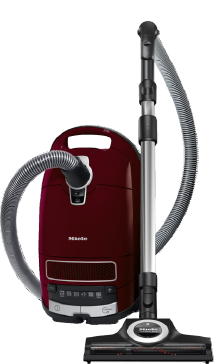 Complete C3 Cat&Dog PowerLine - SGEA3 - Cylinder vacuum cleaner With turbobrush and odour filter; ideal for pet lovers.--Tayberry red